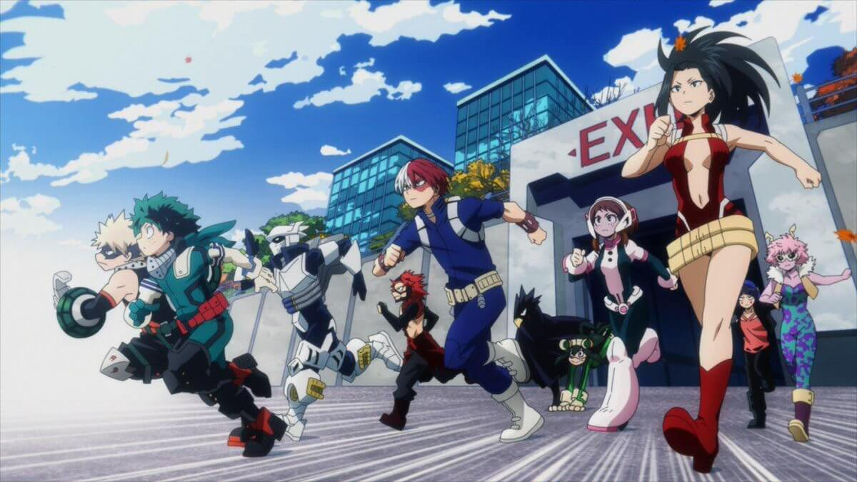 What year does My Hero Academia take place in?