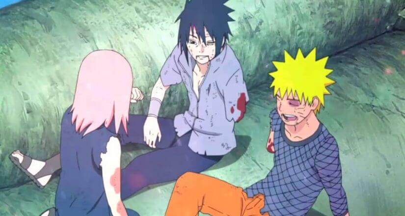 How did Naruto get his arm back?