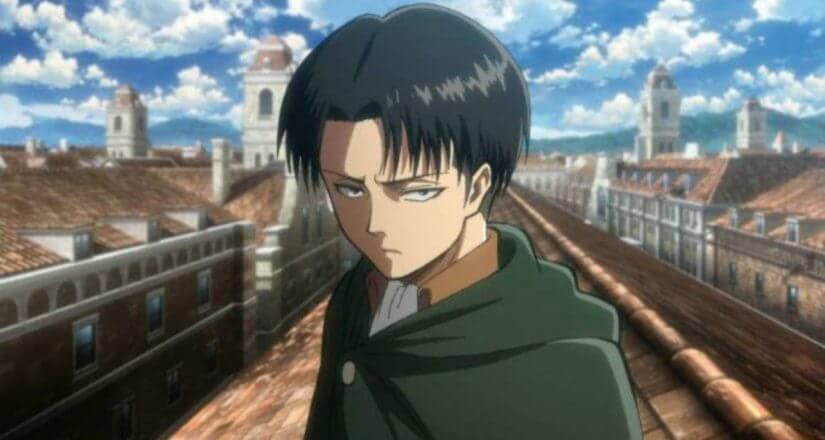 How old is captain levi