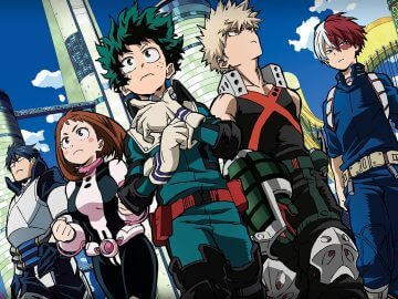 Where does My Hero Academia take place?