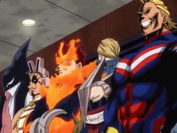 My Hero Academia Line Up