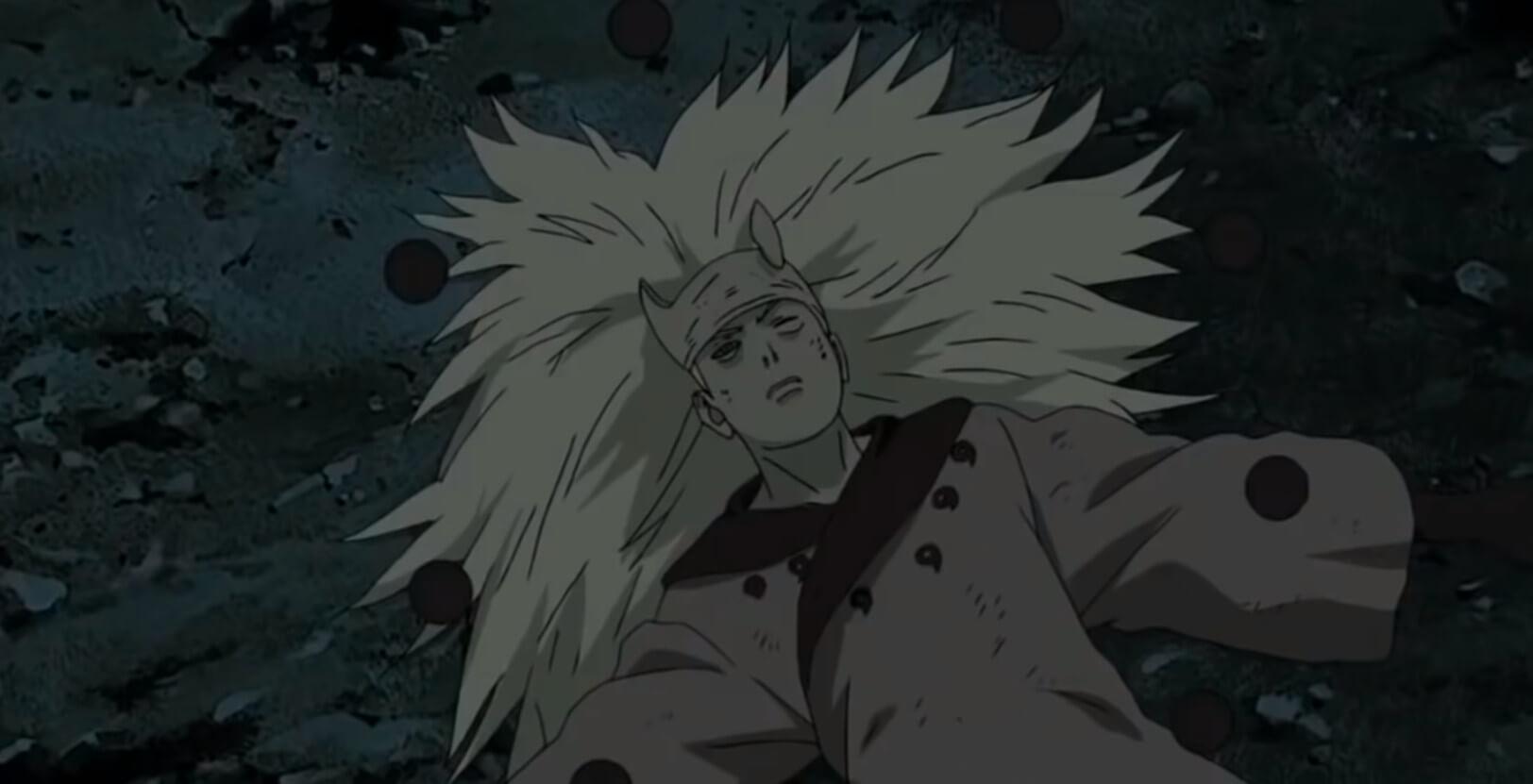 Madara White Naruto