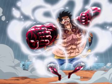 What Episode Does Luffy Use Gear Fourth?